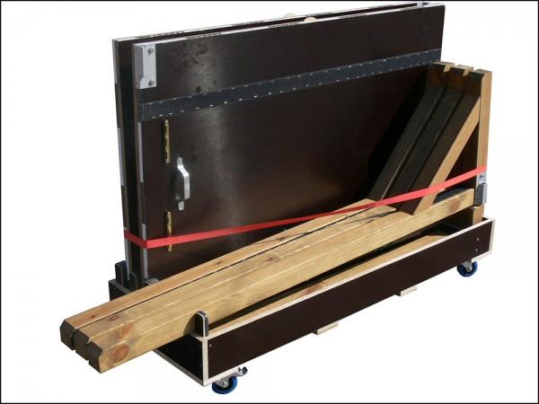 Transport Rollenwagen für Holztorwand