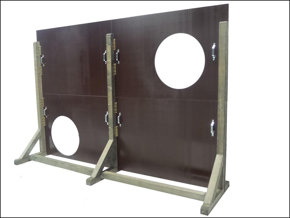 holztorwand kaufen direkt beim hersteller holz torwand verkauf unbedruckt. Black Bedroom Furniture Sets. Home Design Ideas